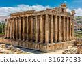 Temple of Bacchus romans ruins Baalbek Beeka 31627083