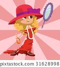 Beautiful liitle girl happiness childhood young 31628998