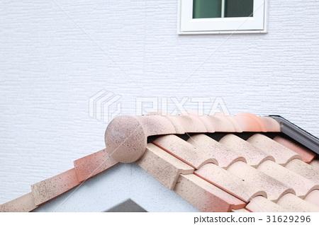 기와 지붕 (주택 거주 마이 홈 남 유럽풍 프로방스 풍의 아이언 유럽) 31629296