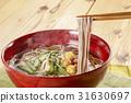 sansai soba noodles, hashi age, soba 31630697