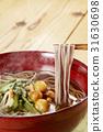 sansai soba noodles, hashi age, soba 31630698