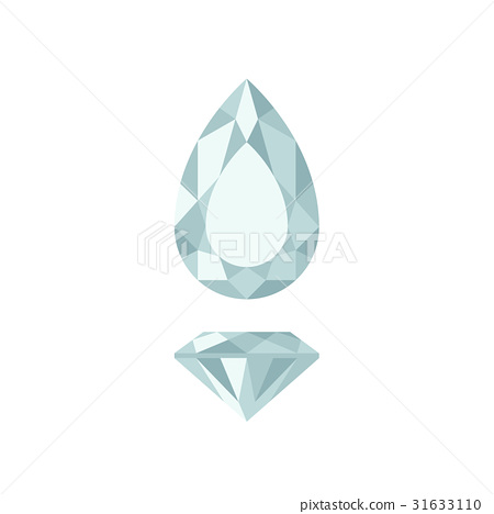 Diamond pear shape 31633110