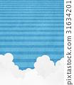 blue sky, Thunderhead, japanese paper 31634201