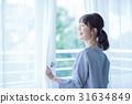 Women on the window 31634849