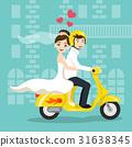 bride, groom, newlywed 31638345