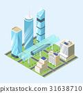 modern, city, building 31638710