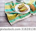 Avocado sandwich for healthy snack with seeds 31639138