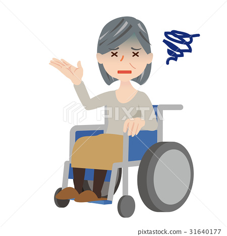 高級女性輪椅 31640177