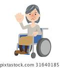 高級女性輪椅 31640185