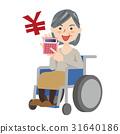 高級女性輪椅 31640186