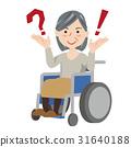 高級女性輪椅 31640188