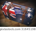 australia suitcase passport 31645198