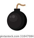 炸彈 插圖 摳圖 31647084