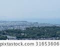 佐和山 성터보다 부감 히코 네시의 성산에서 비와코 방면 31653606