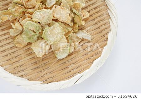Dry vegetables dried radish 31654626