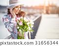 春天 女人 女性 31656344