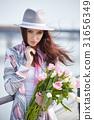 woman springtime portrait 31656349