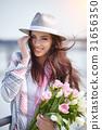 woman springtime portrait 31656350