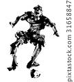 football, soccer, game 31658847