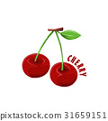 logo icon design Cherry farm 31659151