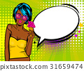 pop, art, woman 31659474