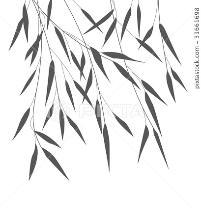 Vector bamboo leaves 31661698