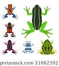 矢量 矢量图 青蛙 31662302
