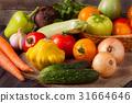 vegetable color basket 31664646