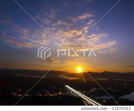 봉안대교,족자섬,두물머리,북한강,조안면,남양주시,경기도 31670163