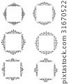 frame, vintage, baroque 31670522
