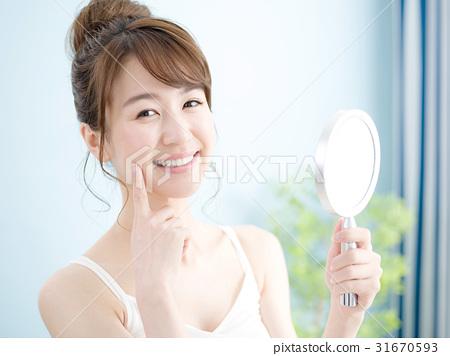 Hand mirror · Beauty · Women 31670593