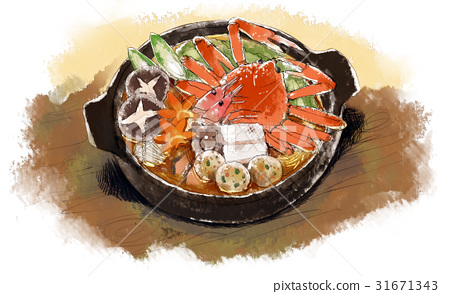 food cooked in a pot, stew, japanese food 31671343