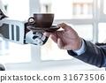 咖啡 机器人 商人 31673506