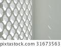 Circle block wall facade 31673563