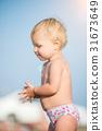 beach, baby, toddler 31673649