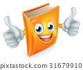 Cartoon Book Character 31679910