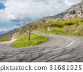 Road in mountain in France 31681925