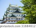 nagoya castle, early summer, castle 31684612