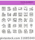 Postal Elements  31685040