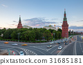 Moscow Kremlin at dusk, Russia 31685181
