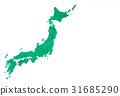 日本列岛 日本画像 日本地图 31685290