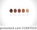 咖啡豆 豆 豆子 31687020