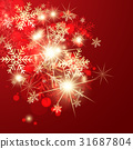 red, background, xmas 31687804