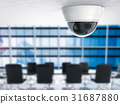 3d rendering security camera or cctv camera 31687880