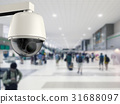 3d rendering security camera or cctv camera 31688097