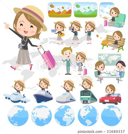 여성, 여자, 여행 31689337