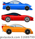 Design a Sports Car and Muscle Car - Stock Vector. 31689799