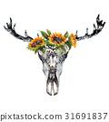 公牛 花朵 花 31691837