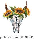 公牛 花朵 花 31691885