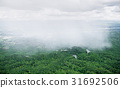 Raining on forest area of Thailand 31692506